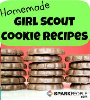 7 Homemade Girl Scout Cookie Recipes | via @SparkPeople --> This pin is for the hubs!
