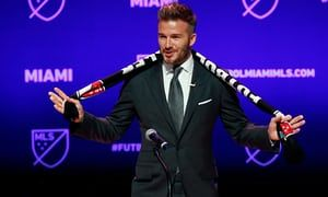 David Beckham finally has his Major League Soccer team after a four-year journey that hit numerous stumbling blocks