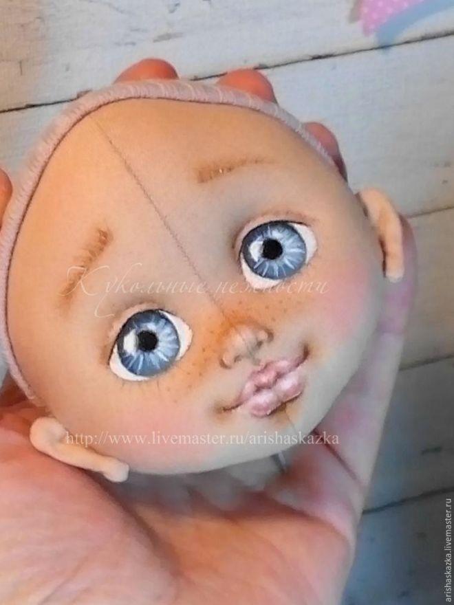 Taller: dar a la cabeza de una muñeca hecha de algodón - Feria Maestros - hecho a mano, hecho a mano