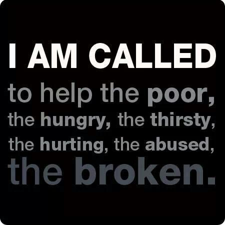 A desire to help the poor and oppressed as a social worker