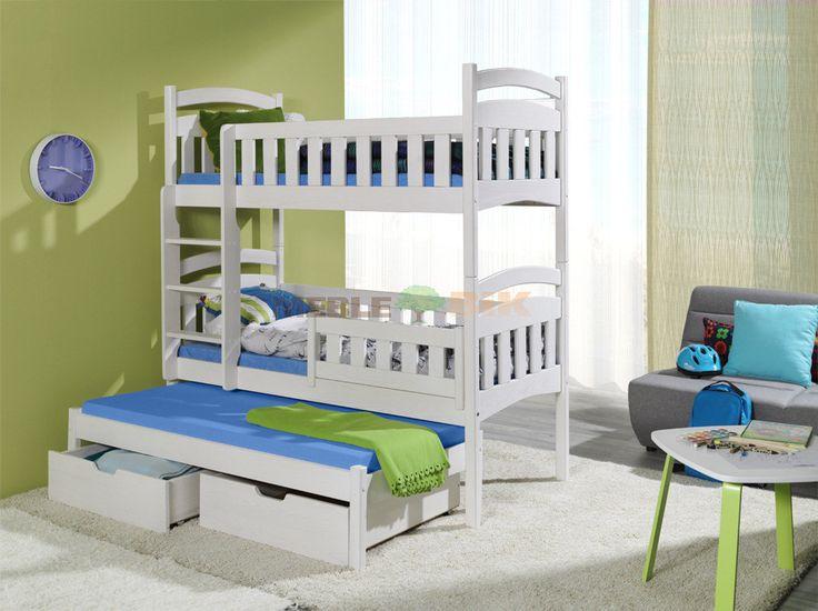 Łóżko piętrowe Dominik III | BED | łóżka piętrowe | 1 499,00 zł - sklep meblowy Meble BIK