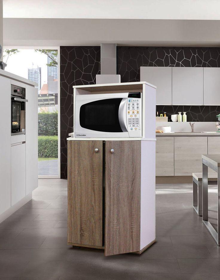 Mueble para horno de microondas tolsa compras for Mueble auxiliar microondas