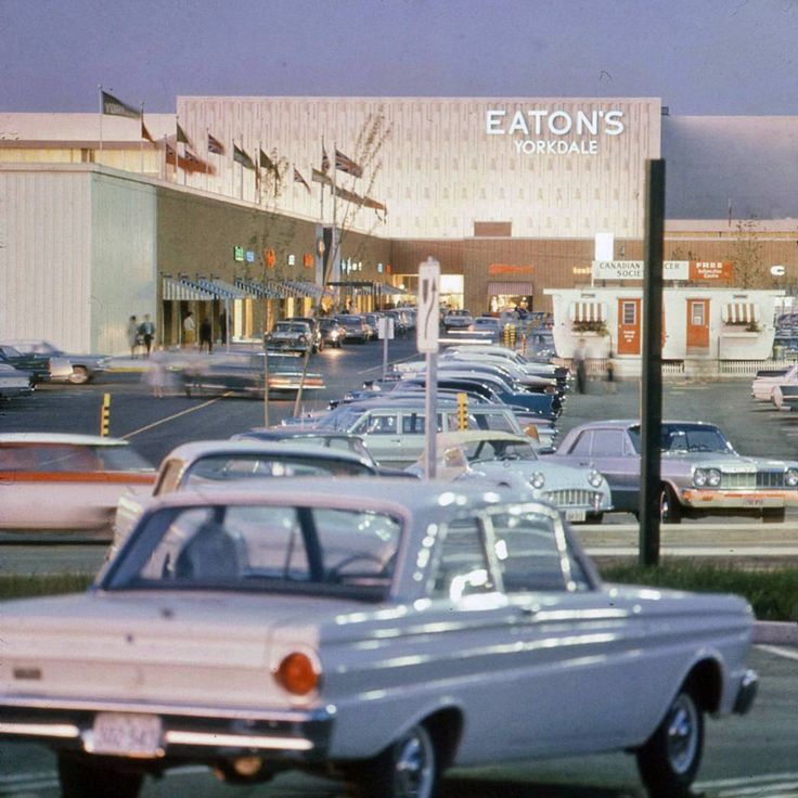 Yorkdale Mall, 1960s