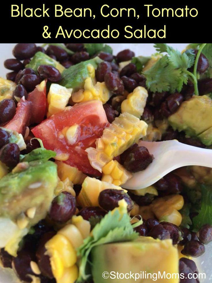 ... Avocado, Avocado Salads, Cleaning Eating Recipe, Black Beans Corn