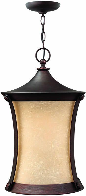 13 Inchw Thistledown 1 Light Outdoor Pendant Victorian Bronze