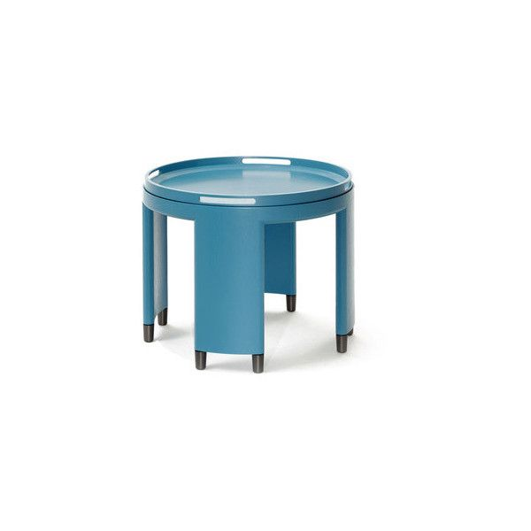 Wolfgang Joop Soho Side Table found on Polyvore