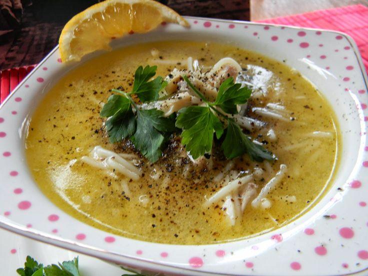 Tavuklu Tel Şehriye Çorbası.   Vişnap