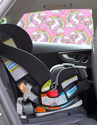 Unicorns Car Shade