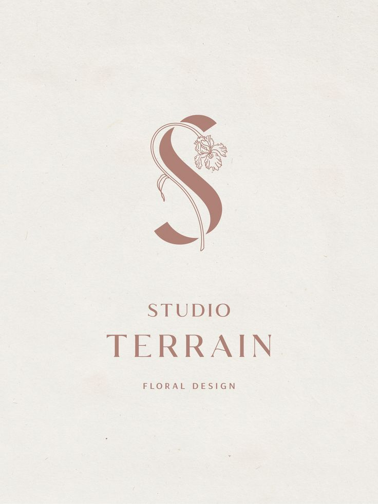 Studio Terrain Logo   Design by Hayley Brooks   @hayleybrooks.studio