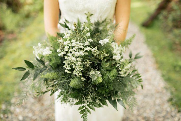 Vancouver green wedding