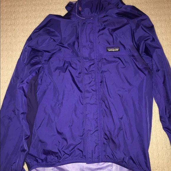 Patagonia Rain Jacket ((SALE)) EUC! Beautiful Indigo color! Very unique Patagonia Jackets & Coats