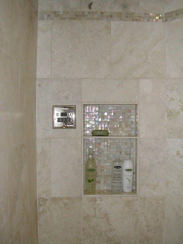 41 Best Tile Niches Images On Pinterest Bathroom Ideas