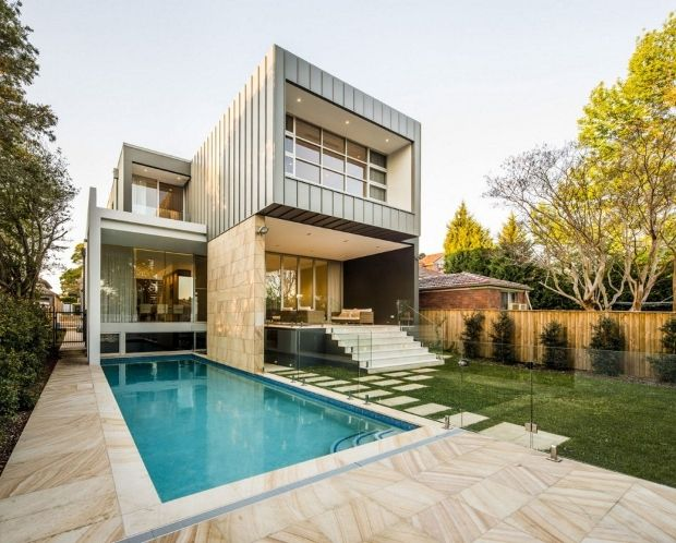 Modern Box House In Sydney, Australia