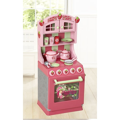 Strawberry shortcake kitchen set just like home toys for Kitchen set at toys r us