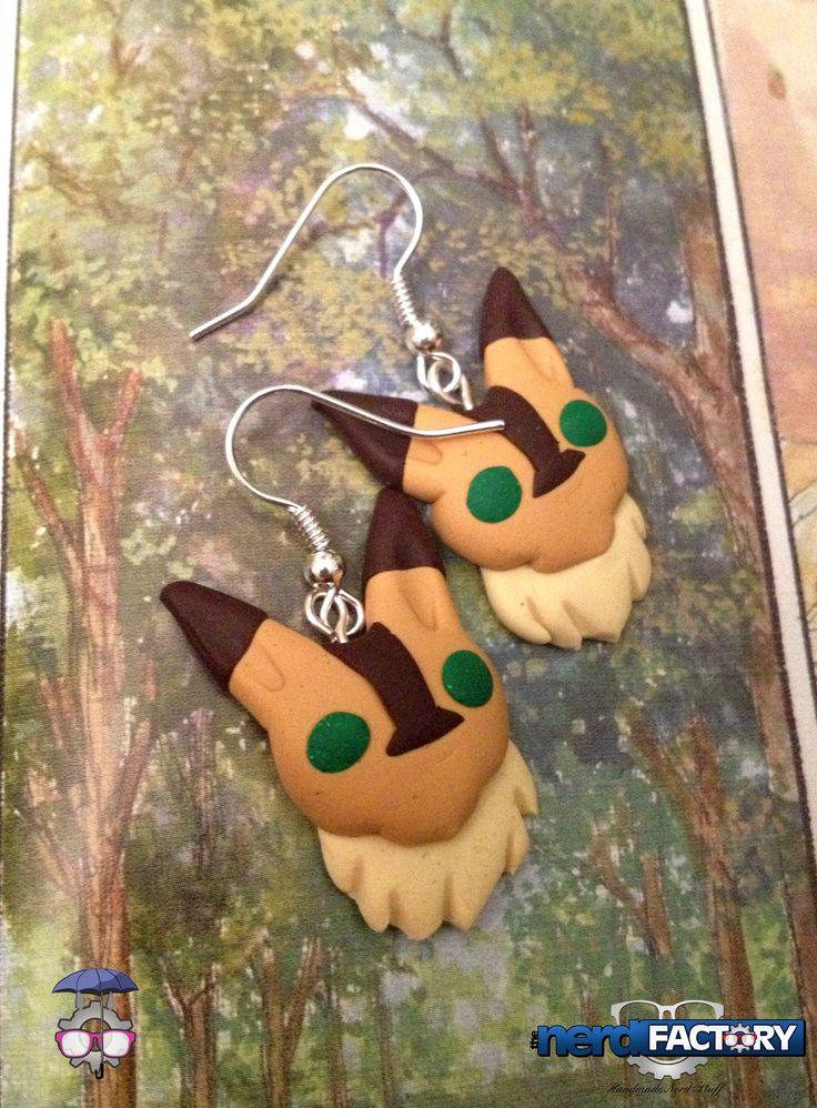 Teto earrings, hand-made!