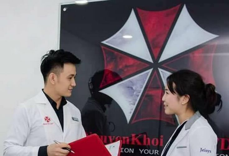 A skin care clinic in this country is using Umbrella Corps' logo http://cstu.io/96f81c