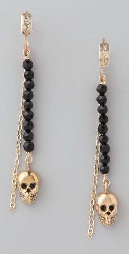 Mima    Arete Skull Earrings  Style #:MIMAA45007  €149.45 | $209.00