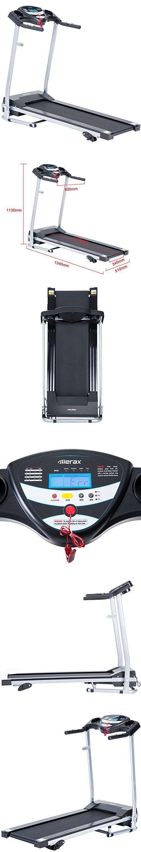 Merax JK1604 Easy Assembly Folding Electric Treadmill Motorized Running Machine (Red)
