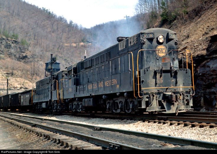 RailPictures.Net Photo: NW 3498 Norfolk & Western FM H24-66 at Mullens, West Virginia by Tom Sink