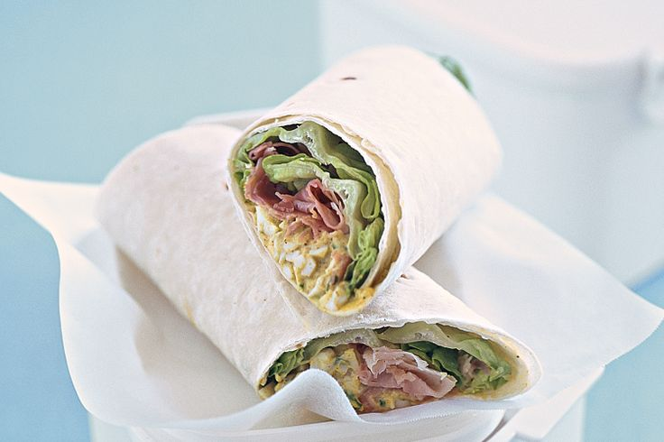 If you have the same lunch every day, or the kids' sandwiches keep coming back, take heart. Try this tasty wrap for an interesting alternative.