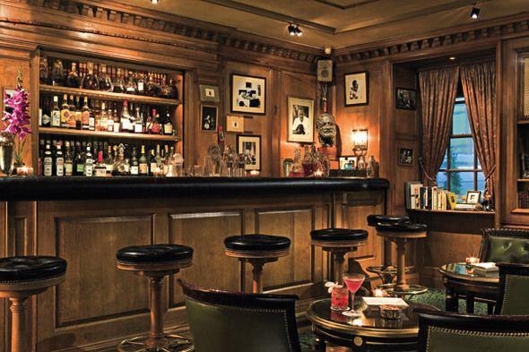 cozy english inspired pub