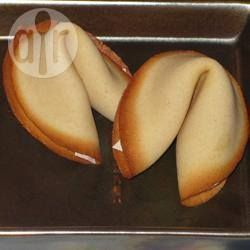 Photo recette : Fortune cookie ou biscuit chinois