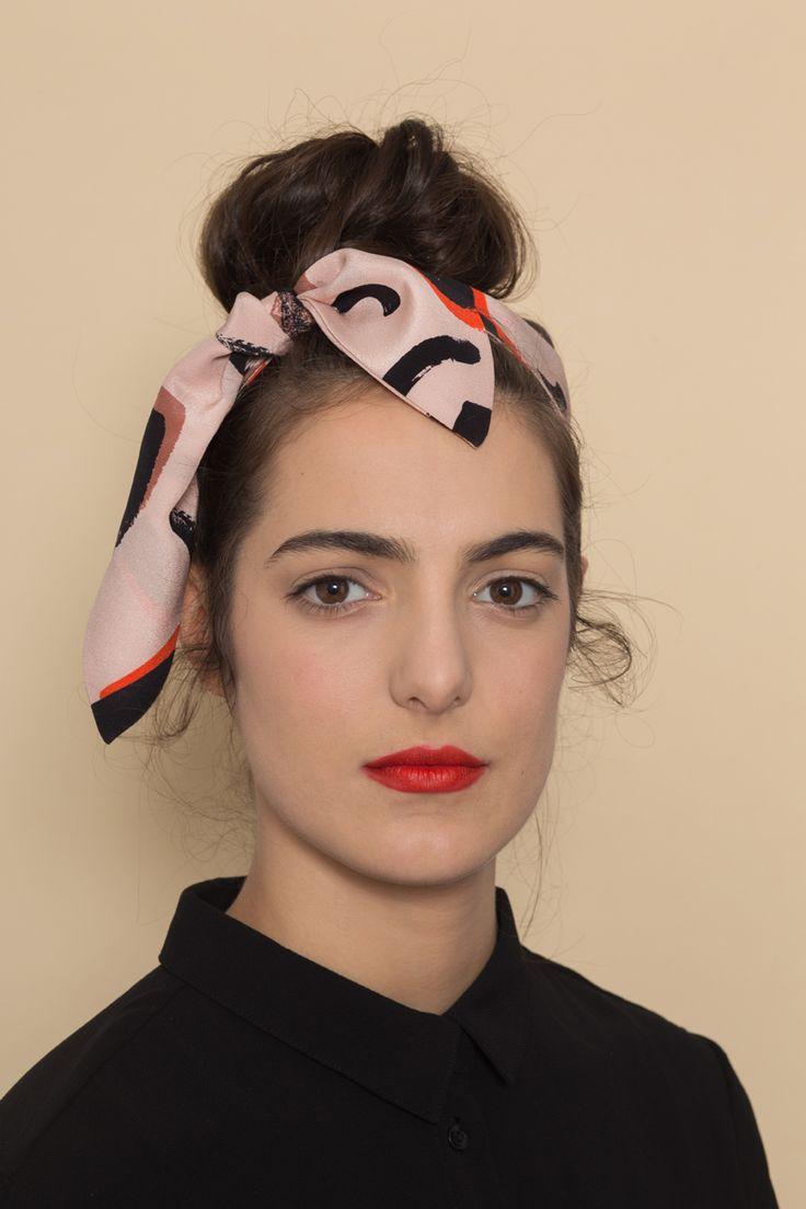 AH/OK Nina - Silk Headband