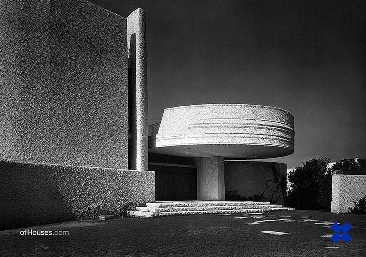 Luigi Moretti /// Villa La Saracena /// Santa Marinella, Italy /// 1957