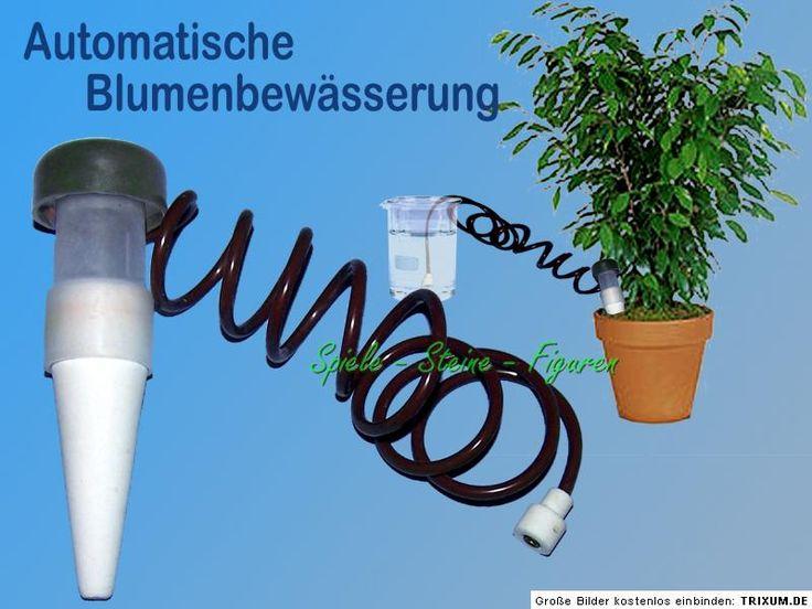 Awesome Details zu automatische Bew sserung f r Topfpflanzen Blumentopf Wasserspender Gie kanne