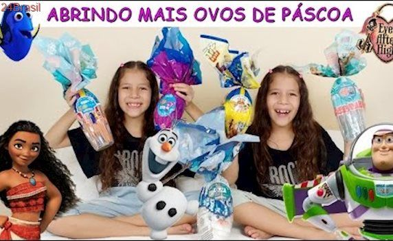 ABRINDO MAIS OVOS DE PÁSCOA - MOANA DORY EVER AFTER HIGH OLAF TOY STORY