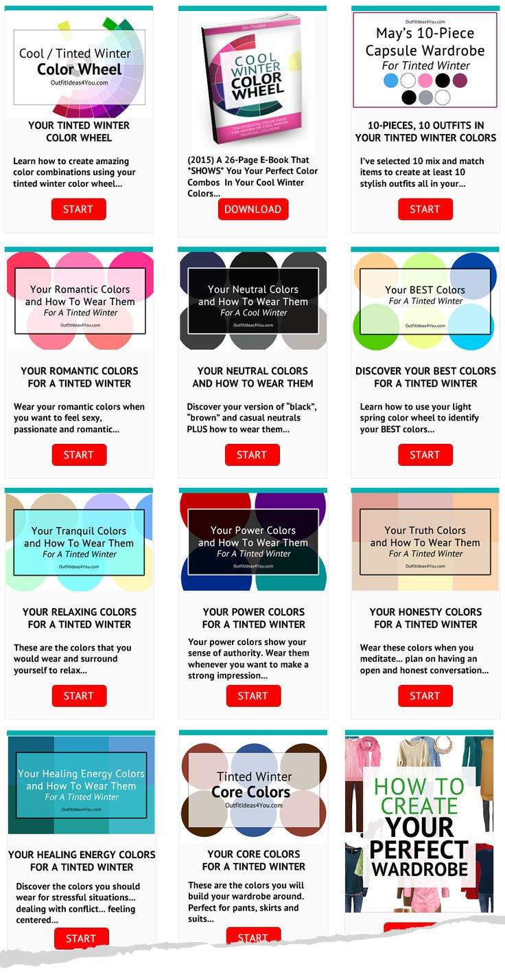 87 best cool winter color palette tinted winter seasonal color