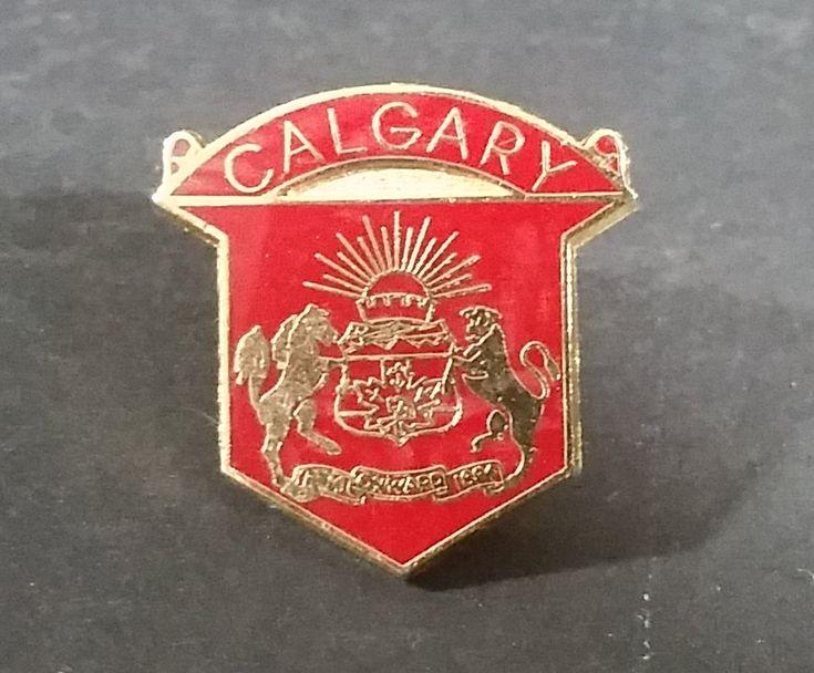 City of Calgary Coat of Arms Red and Gold Enamel Lapel Pin - 1884 Onwards 1894 https://treasurevalleyantiques.com/products/city-of-calgary-coat-of-arms-red-and-gold-enamel-lapel-pin-1884-onwards-1894 #CityofCalgary #City #Cities #Calgary #Alberta #AB #Canada #Western #Canada #Canadian #CoatofArms #Enamel #LapelPins #Pins #Town #1880s #Prairies #Collectibles #Memorabilia