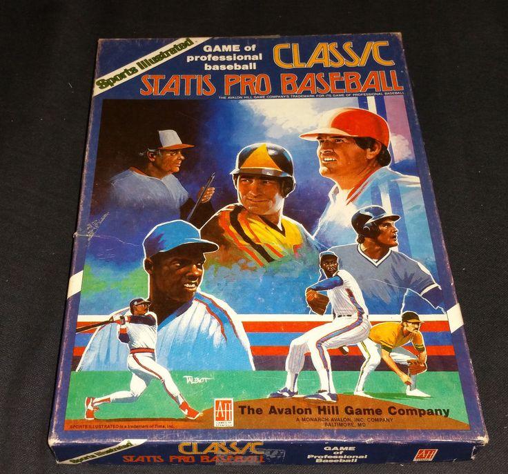 1987 AVALON HILL STATIS PRO BASEBALL GAME!! #AvalonHill