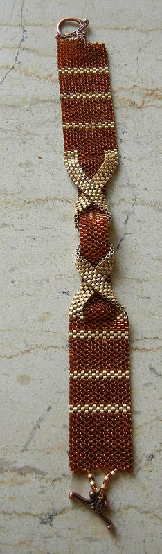 My belt peyote bracelet