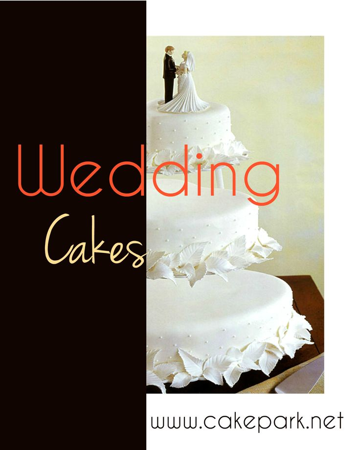 Looking for the perfect #wedding #cake? Get inspired with pictures of our unique wedding cakes! Place orders #online or do call us for #customized #theme #cakes.  Visit: http://www.cakepark.net/wedding-cakes.html / 9444915533