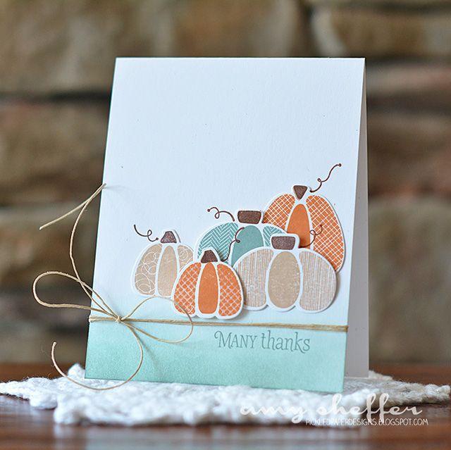 Благодарения из бумаги открытки