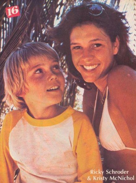 Ricky Schroder  & Kristy McNichol