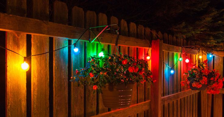 Colored String Lights For Patio : 213 best images about Outdoor Lighting on Pinterest Patio, String lights and Led tape