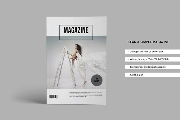 Clean & Simple Magazine by J_Studio   #clean #& #simple #magazine