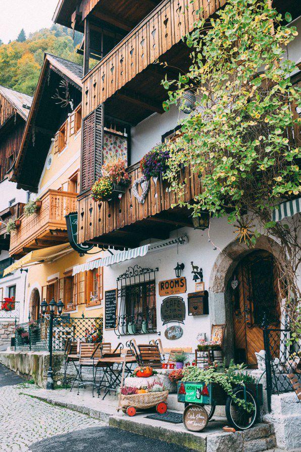 A great place to spend 1 week in Europe: Salzburg, Hallstatt, Vienna, Austria. Photo via In Between Pictures
