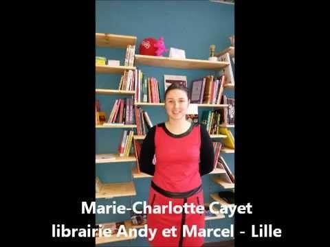 Interview de Marie-Charlotte Cayet, gérante de la librairie Andy et Marcel (30 rue Mourmant à Lille - métro Gambetta) : bd, salon de thé et espace rétro gaming. http://andyetmarcel.fr/