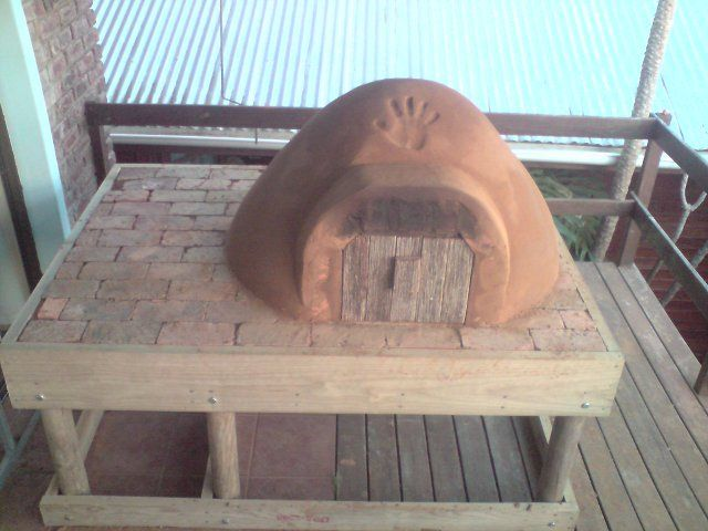 Building a Traditional Clay Oven
