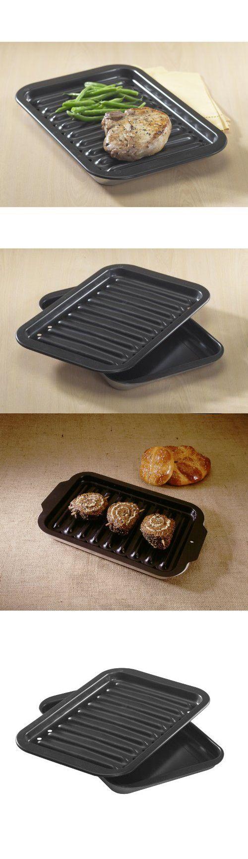 Nordic Ware Nonstick Broiler Pan Set