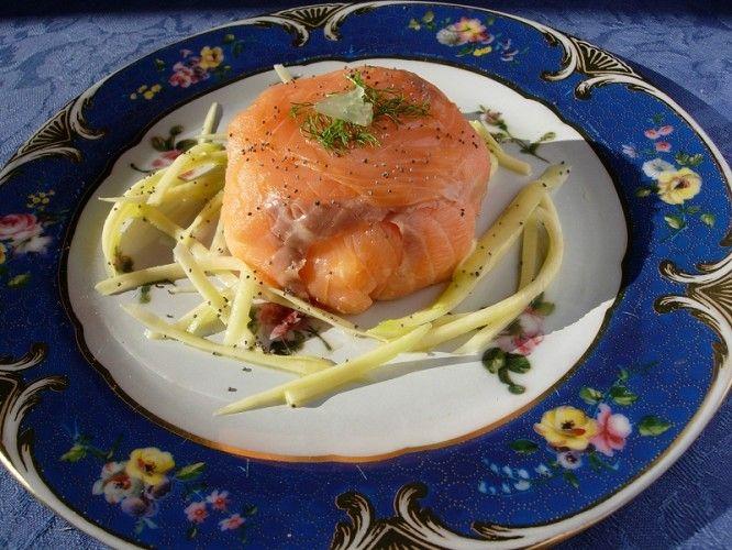 Timballini di salmone affumicato Sissi - Le ricette di Mangiare bene