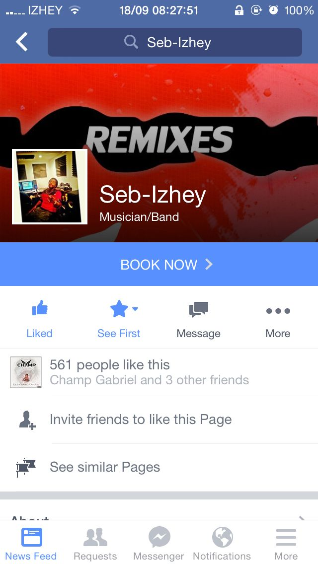 Check out Seb-Izhey's facebook page