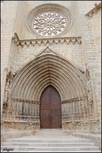 Iglesia de Sª. Maria la Mayor, Valderrobres ( Teruel ).Spain