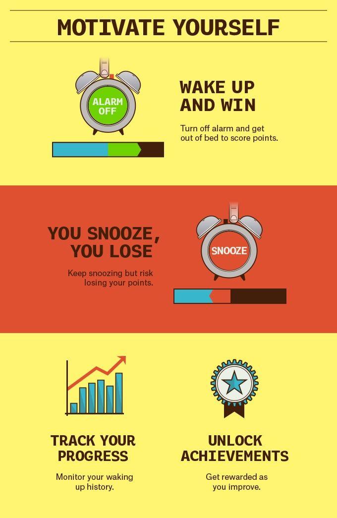 Win or Snooze - a gamified alarm clock app by Tadej Štrok — Kickstarter
