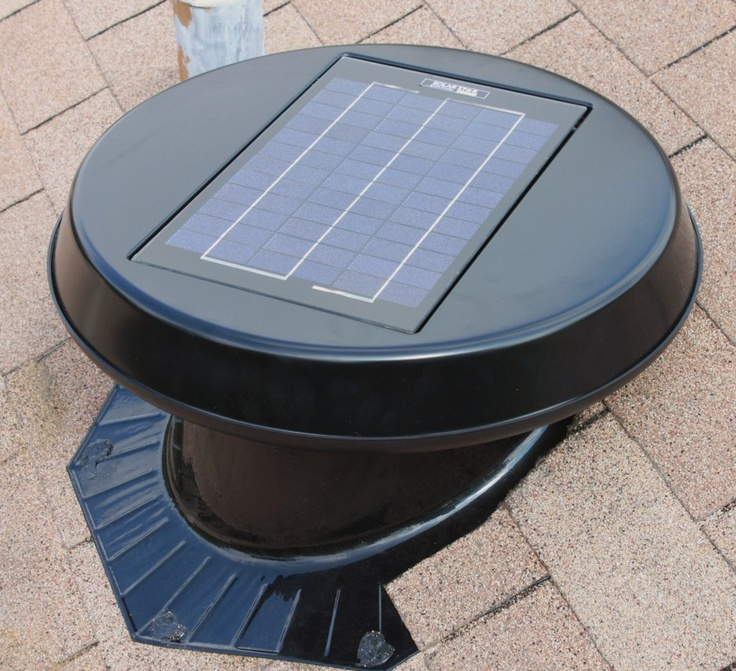 Solar Powered Attic Fan Solar Powered Attic Fan Solar