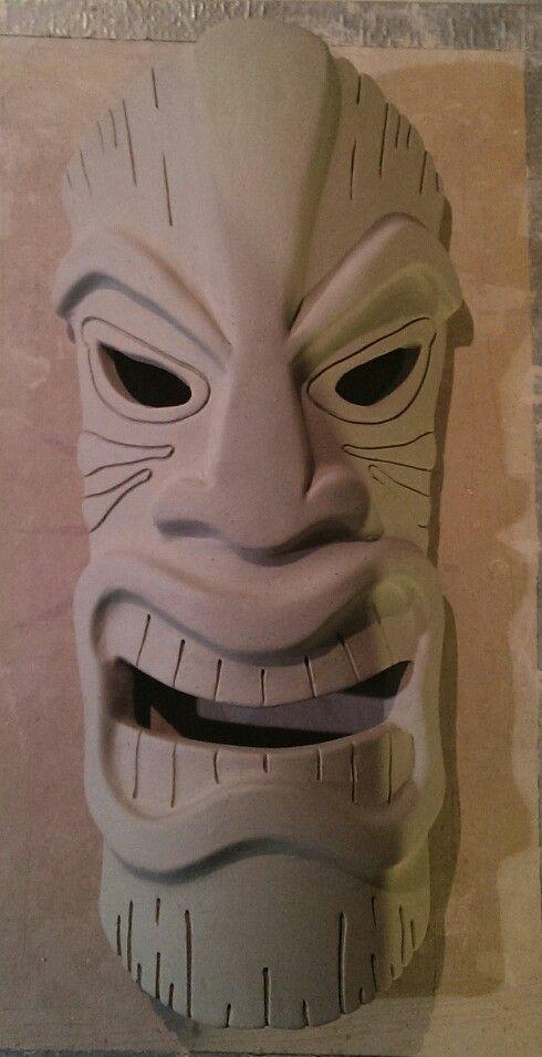 Máscara Tiki - Escultura