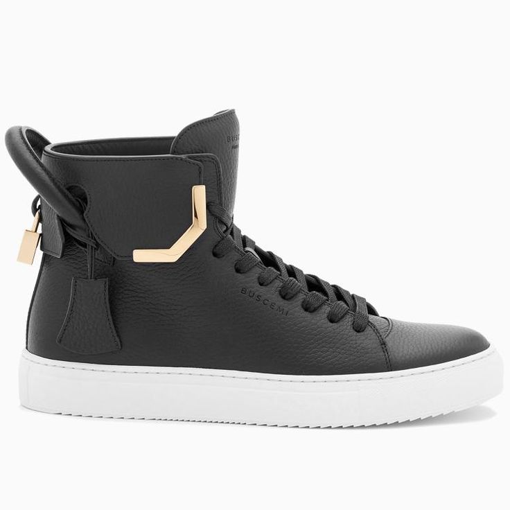 Buscemi Men's 125MM Corner Metal Black Sneakers #men #fashion #blackfriday #sneakers #shoes #buscemi #lifestyle